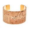 Kylie Cork Cuff Bracelet