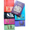 Mia Personalized Leather Passport Cover