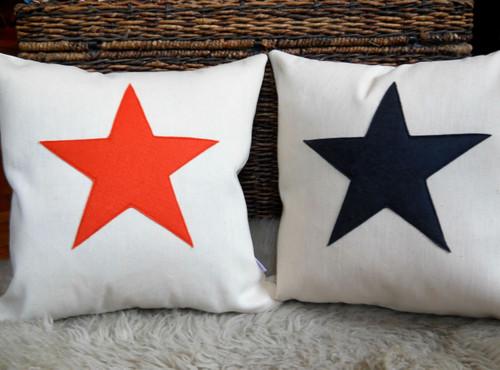 Scrabble Inspired Star Canvas Cushion, Scrabble Inspired Star Canvas Pillow