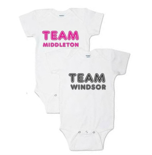 Personalized Team Family Name Onesie & Baby Grow