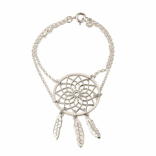 Dream Catcher Bracelet -Sterling Silver