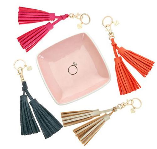 Fiona Double Tassel Keychains