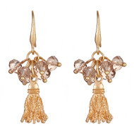 Zoe Earrings - Champagne
