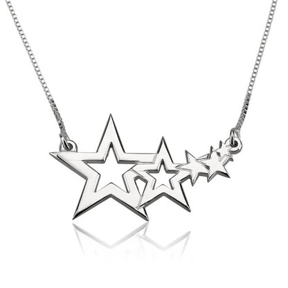 Shooting Sta Necklace - Sterling Sliver