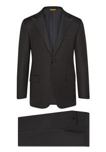 Hickey Freeman Tasmanian Tuxedo: Beacon - Peak Lapel in Black