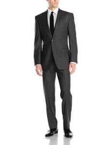 Calvin Klein Malik Slim Fit Suit in Charcoal