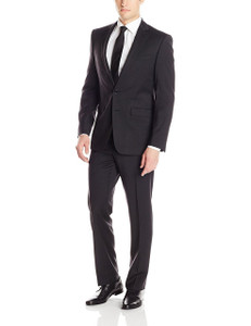 Calvin Klein Mabry Ultra Slim X-Fit Suit in Charcoal