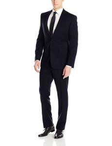 Calvin Klein Mabry Ultra Slim X-Fit Suit in Navy