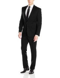 Calvin Klein Mabry Ultra Slim X-Fit Suit in Black