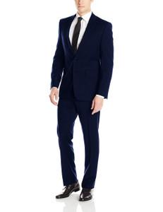 Calvin Klein Mabry Ultra Slim X-Fit Suit in Medium Blue