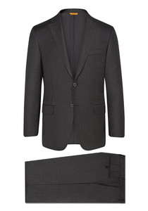 Hickey Freeman Tasmanian Super 150s Suit: Beacon in Charcoal