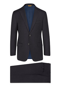 Hickey Freeman Tasmanian Super 150s Suit: Beacon in Navy
