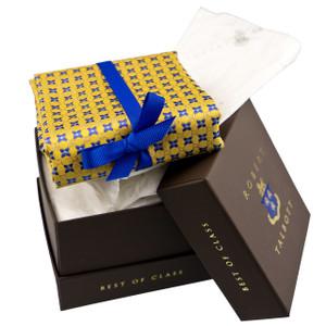 Robert Talbott Custom Best of Class Silk Tie in Gold Floral