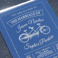 Mirrored Acrylic Wedding Invitations - Tandem
