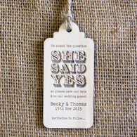 StD Luggage Tag with Twine