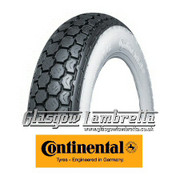Continental K62 WHITEWALL 350 x 10 Set of 3 Tyres
