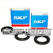Lambretta S1, S2 & S3 Li/SX HIGH LOAD SKF/FAG CRANKSHAFT BEARINGS + ROLF SEALS KIT