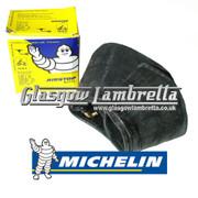 Michelin Airstop Tube Single for Lambretta  REAR WHEEL (90 degree) 350 x 10