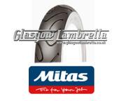 Mitas MC18 Whitewall 350 x 10 set of 3