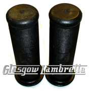 PIAGGIO Vespa GS, Sprint, Super etc BLACK RUBBER HANDLEBAR GRIPS