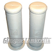 PIAGGIO Vespa GS, Sprint, Super etc GREY RUBBER HANDLEBAR GRIPS