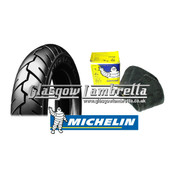 BULK DEAL!! Set of 6 x Michelin S1 350 x 10 Tyres + Airstop Tubes