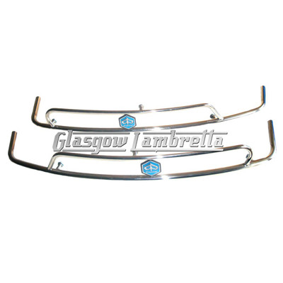 Vespa PX, T5 & LML POLISHED STAINLESS STEEL SIDE PANEL