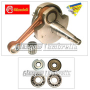 MAZZUCCHELLI Italian Vespa Sprint,Super,GL,GT,GTR CRANKSHAFT + BEARINGS & SEALS KIT