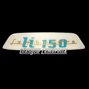 Lambretta Li 150 REAR FRAME BADGE (Made to original spec.)
