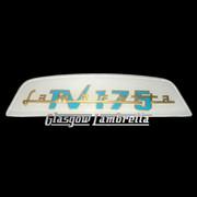 Lambretta TV 175 REAR FRAME BADGE (Made to original spec.)