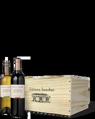 6 Bottle Wooden Case