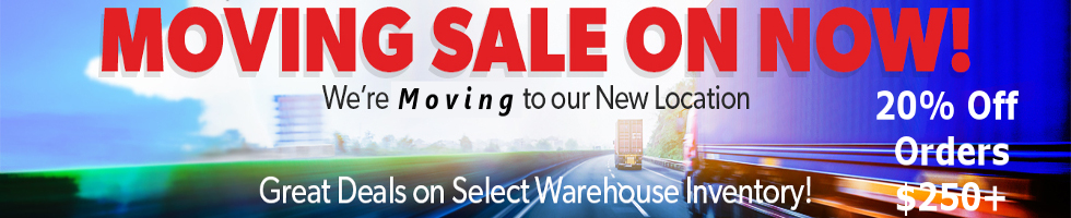 Moving Sale Image 20% Off