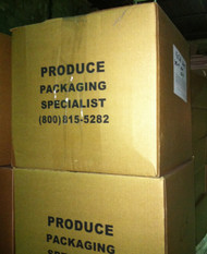 "Corrugated Shipping or Moving Box 18x18x16"" Stock Print"