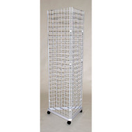 Grid Display Unit - Triangle 2' Sides Chrome