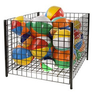 "Wire Grid Dump Bin Display 32""H"