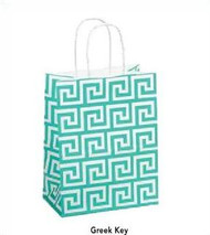 Recycled Shopping Bag - Greek Key Collection