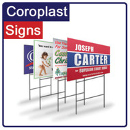 Coroplast Yard Sign 18x24 Two-sided