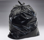 45 Gallon Trash bag 1.7 mil Blk