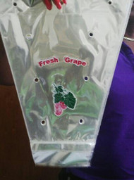 Polypropylene Vented Grape bag - Printed