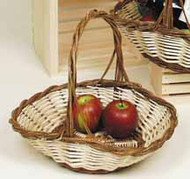 Oval 2-Tone Flared basket