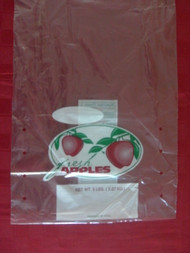 10 lb Vented Apple bag on Wicket
