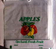 1/2 Bushel Vented Apple Drawstring bag