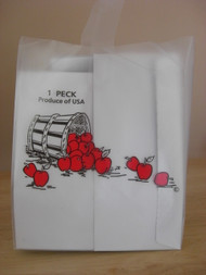1 Peck Apple Frosted Tote bag