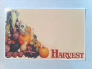 Harvest Price Card 7 x 11