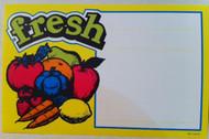 Fresh Veggies Price Card