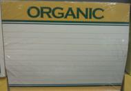 Organic Price Card 5.5 x 7