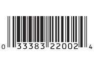 Blueberry UPC Label - 1 Quart