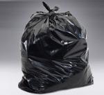 44 Gallon Trash bag 1 ply  BLK