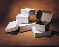 """Interlock Cake box 14"""" White"""