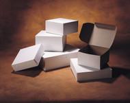 """Interlock Cookie/Pie box 6"""" White"""